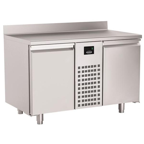 Külmtöölaud kahe uksega monoplokk 1300x700x860mm