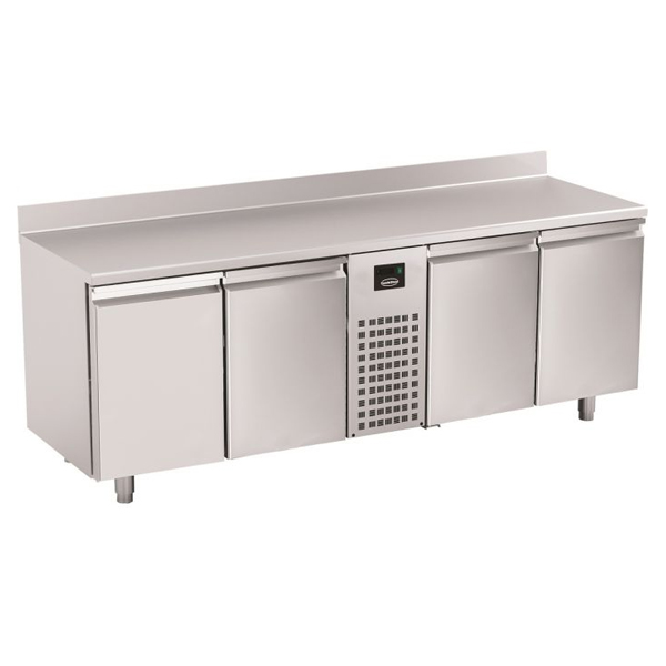 Külmtöölaud nelja uksega 2270x700x860mm