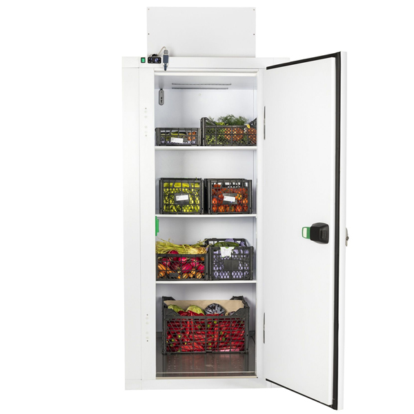 Mini Sügavkülmkamber koos külmaagregaadiga ja riiulitega