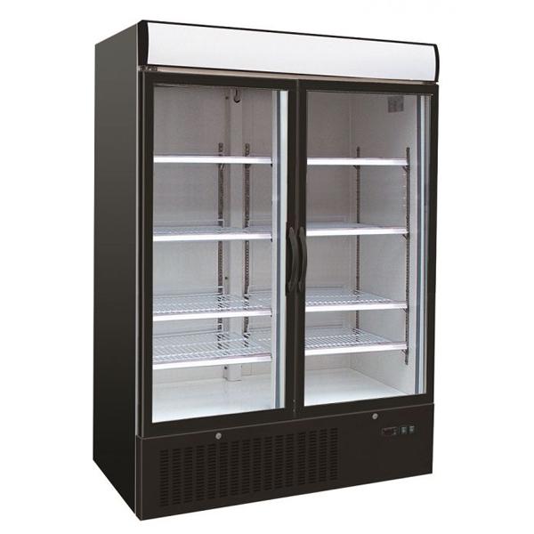 Sügavkülmkapp kahe klaasuksega