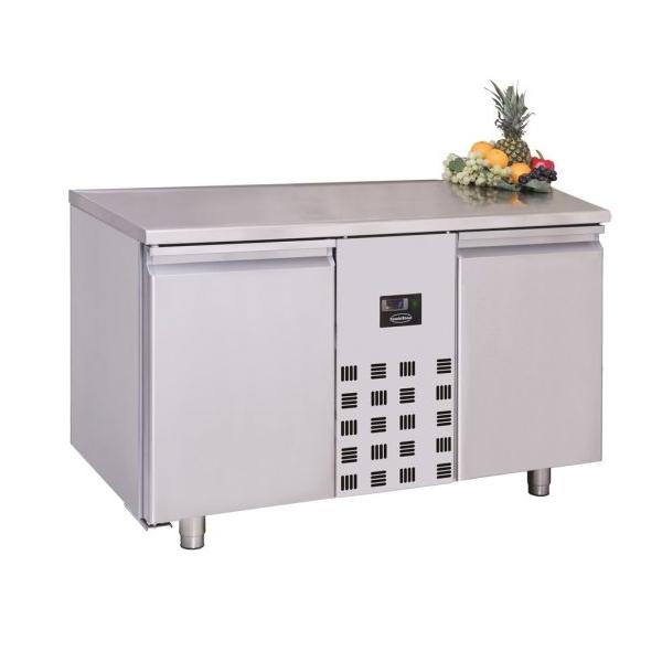 Sügavkülmtöölaud kahe uksega 1300x700x850mm