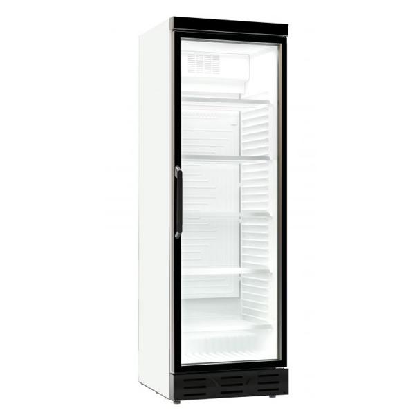 Külmkapp 382L ühe klaasuksega 595x650x1850mm