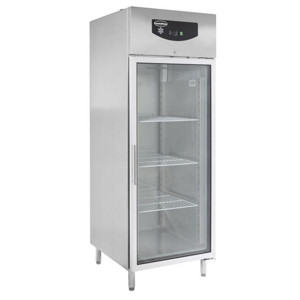 Külmkapp SS ühe klaasuksega 740x830x2010mm