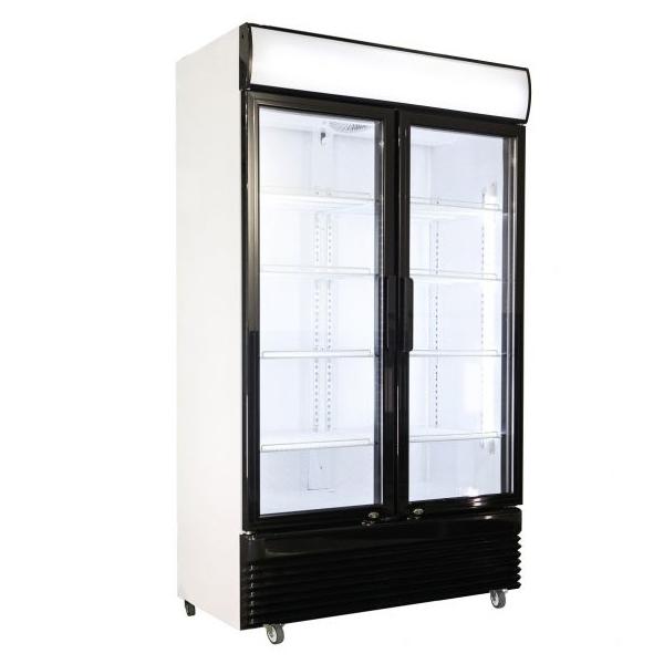 Külmkapp kahe klaasuksega BEZ-750 1120x610x1965mm