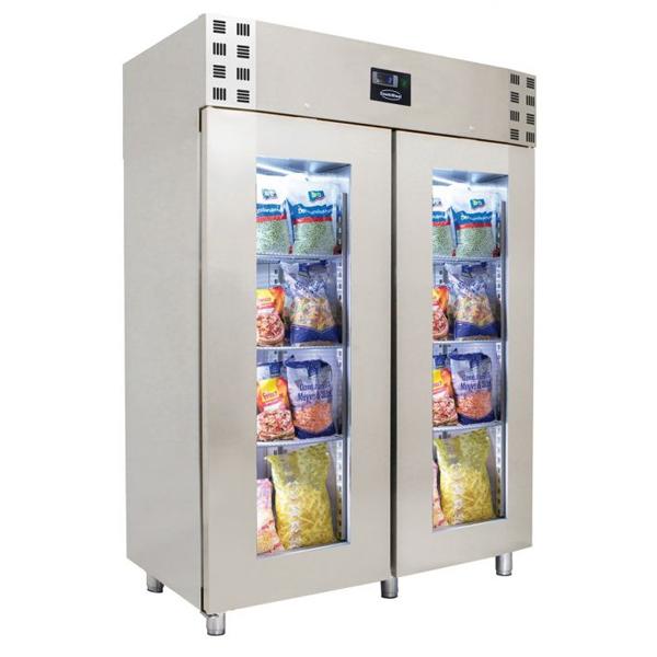 Külmkapp klaasustega monoplokk 1400x810x2050mm