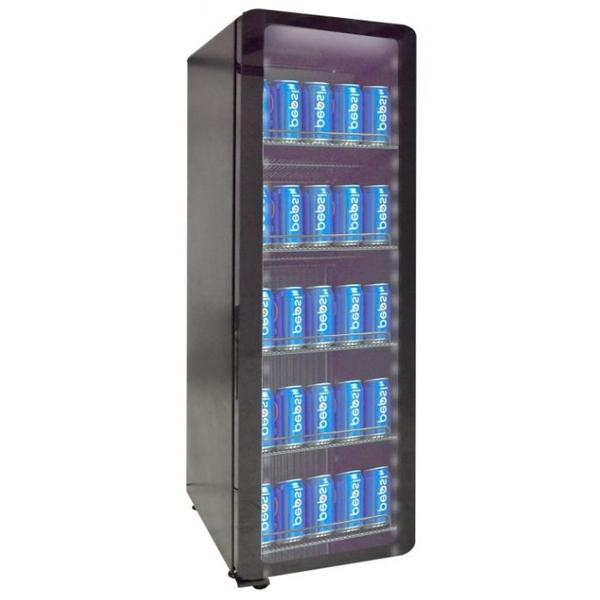 Külmkapp must 418x496x1410mm