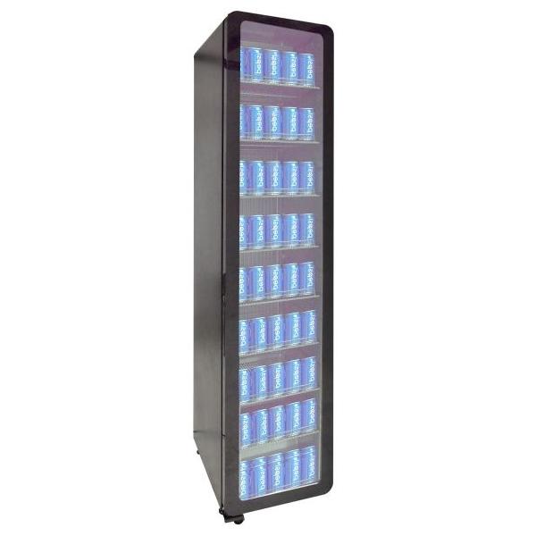 Külmkapp must 418x496x1905mm
