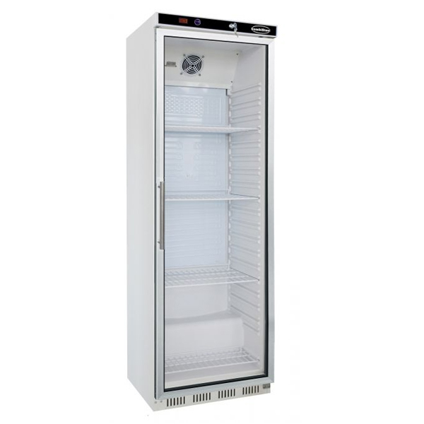 Külmkapp ühe klaasuksega 600x585x1855mm