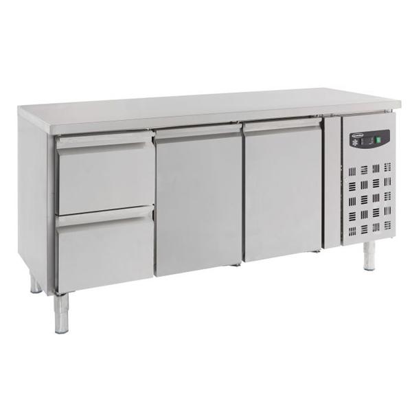 Külmtöölaud kahe ukse ja kahe sahtliga 1795x700x850mm