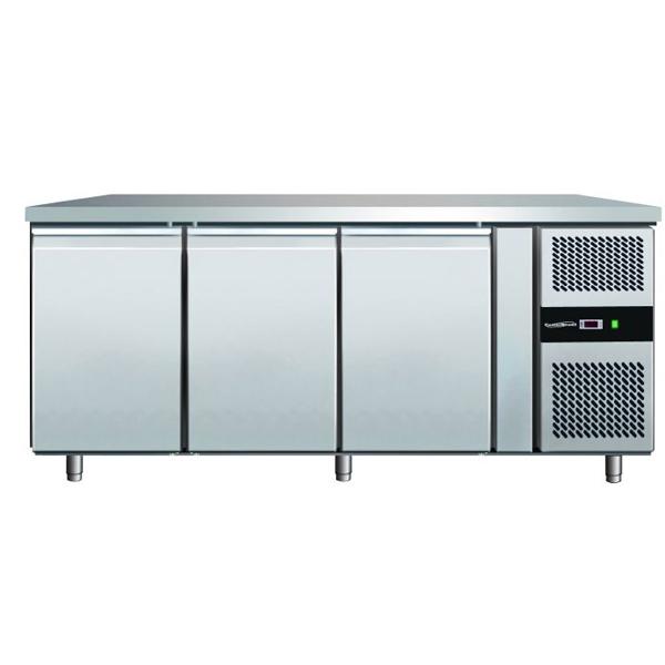 Külmtöölaud kolme uksega 1798x600x860mm