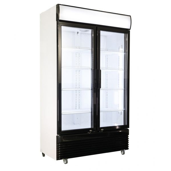 Külmkapp kahe klaasuksega BEZ-780 GD 1120x595x2100mm