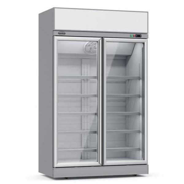 Külmkapp kahe klaasuksega INS-1000R 1253x710x2092mm