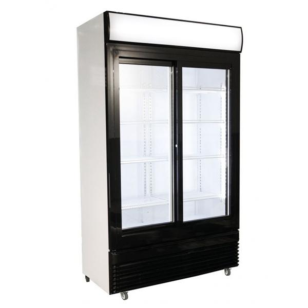 Külmkapp kahe liuguksega BEZ-780 SL 1120x595x2100mm