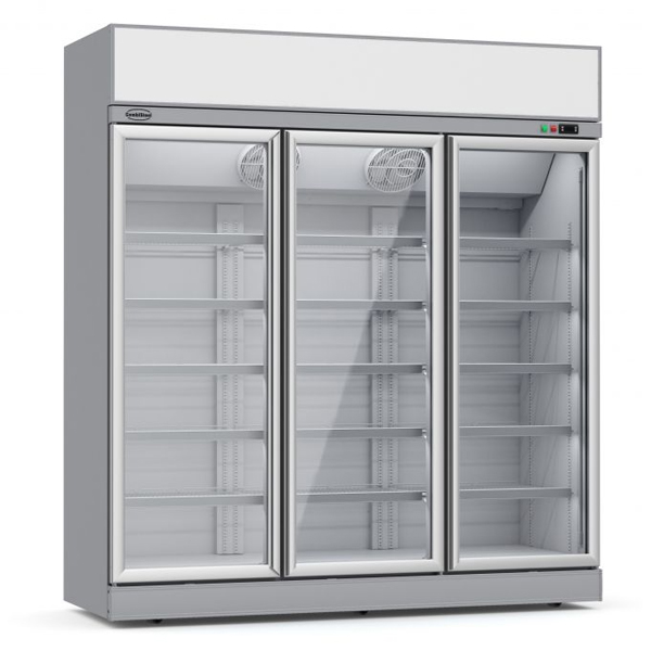 Külmkapp kolme klaasuksega INS-1530R 1880x710x2092cm