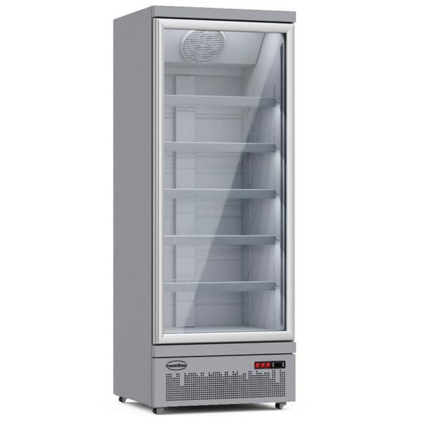 Külmkapp ühe klaasuksega JDE-600R 750x710x1997mm